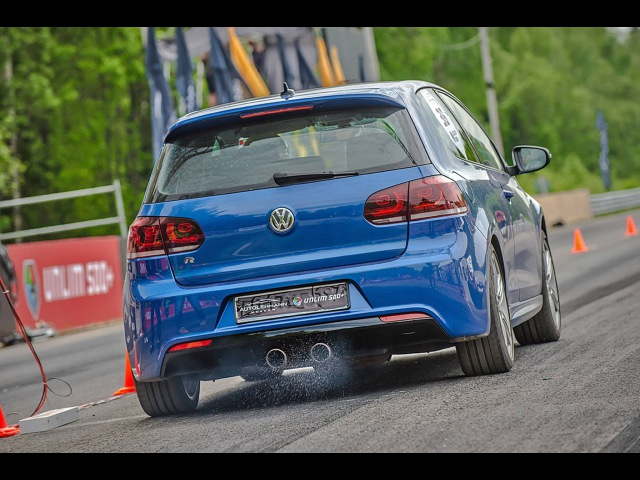 HGP Golf R 3.6 BiTurbo Best of 2014 Part I - @GTBOARD.com