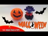 Как лепить из пластилина тыкву для Хэллоуина | Лепим с Алиной из пластилина