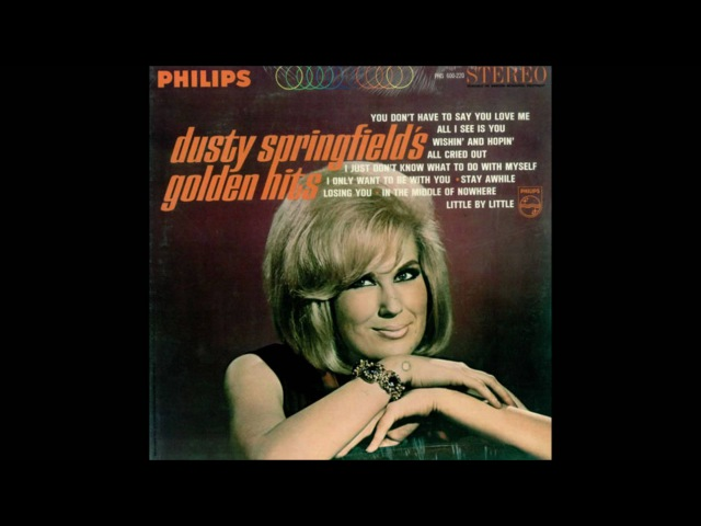 Dusty Springfield ~ i Just Dont Know What To Do With Myself (HQ)