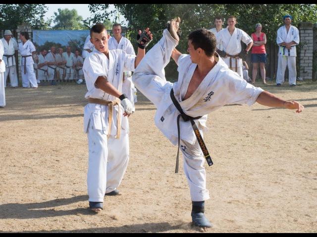 Highlight Kyokushin Summer Camp With Shihan Vsevolodov S. Kherson-2014