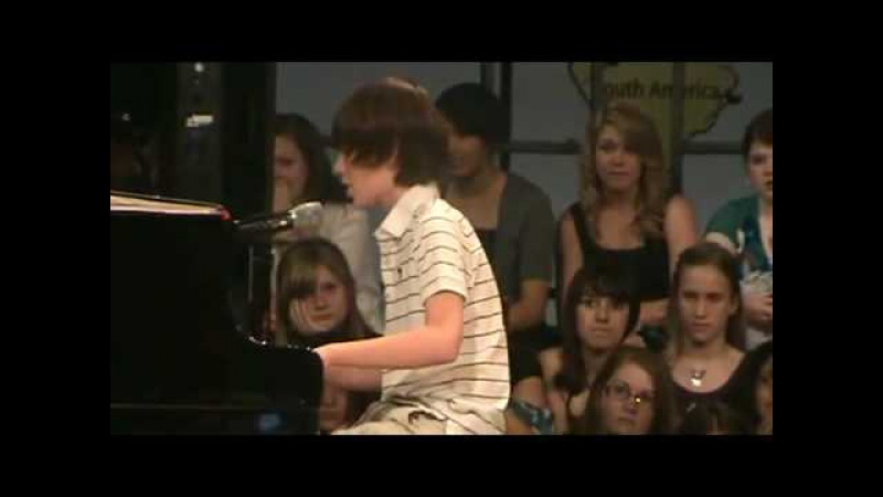 13 year old boy wows all the girls with his first appearance ..Lady Gaga