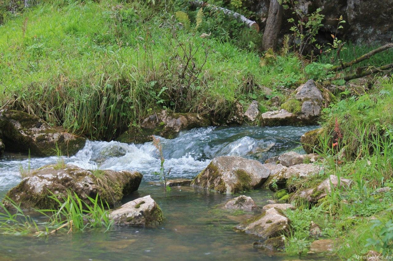 Выход подземной реки