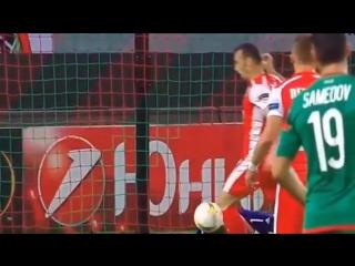 Локомотив - Скендербеу 2:0 Обзор матча 01.10.2015 [HD]