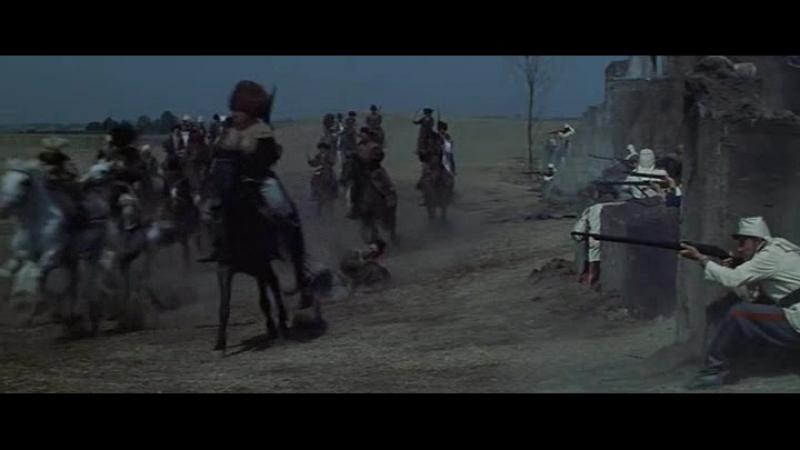 Нападение туркмен на русский отряд (Триумф Михаила Строгова)