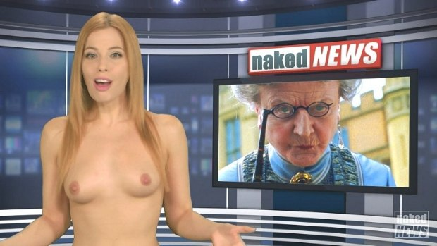 WOW Naked News 22-01-2015 # 1