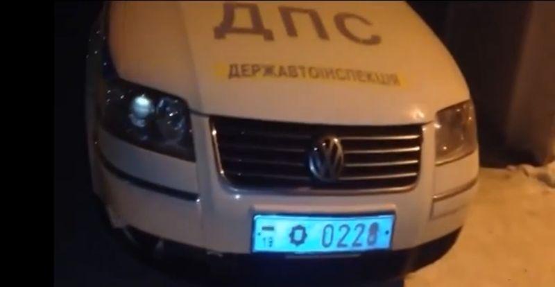 Сумчане выложили в You Tube видео крепкого сна двух ГАИшников во время дежурства