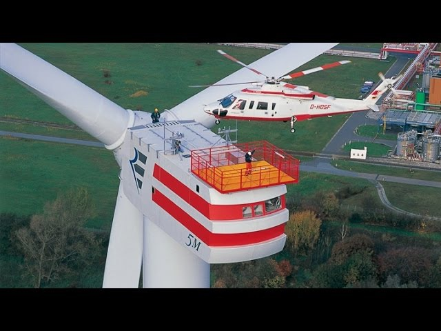 Enercon E126 The Most Powerful Wind Turbine in The World