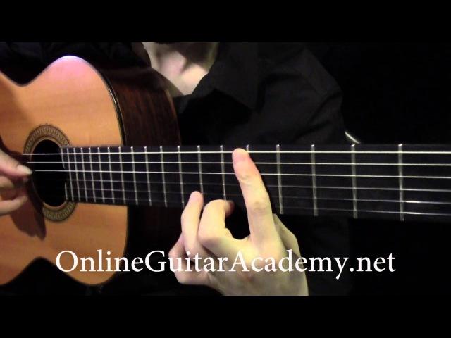 Piano Sonata K. 545 by W. A. Mozart, 1st Mvt (classical guitar arrangement by Emre Sabuncuoğlu)
