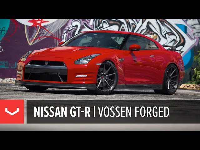 Nissan GT-R | Vivian Chau goes for a Ride | Vossen Forged VPS-310 (4K)