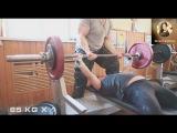 Gunel Talybova Тренировка 25.10.2014 (Жим лежа)