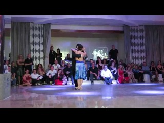 Marcelo Ramer y Selva Mastroti at Canary Islands 2015 Tango Festival
