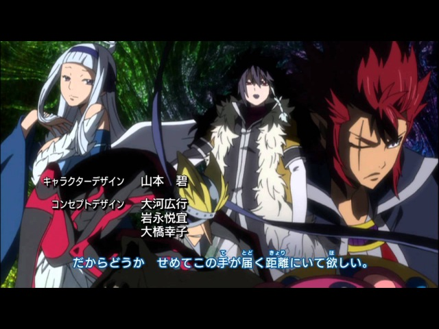 Fairy Tail Opening 12 Subs CC