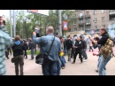 28 апреля 2014. Донецк. ⚡ Ukraine crisis 2014 - Donetsk - Smoke Bombs, Guns, Fighting