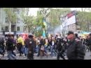 28 апреля 2014 Донецк ⚡ Ukraine crisis 2014 Donetsk Demo 2 minutes before violence