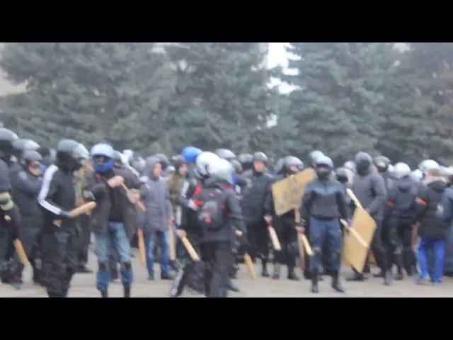 19 февраля 2014. Одесса. Одесса отбила атаку нацистов