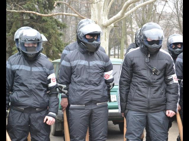 19 февраля 2014. Одесса. В Одессе титушки избили Евромайдан и журналистов: Полная версия