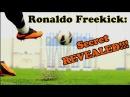 CRISTIANO RONALDO - Knuckle Ball Free Kick Tutorial   The F2