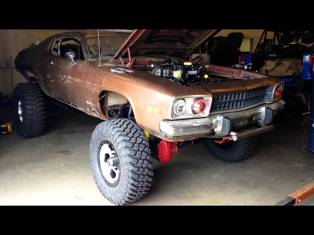 Plymouth Road Runner Diesel Swap 4x4 Conversion! - Dirt Every Day Ep. 43
