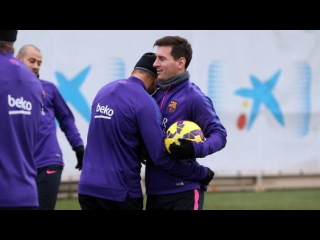 Training session (30/01/2015): Back to the practice field