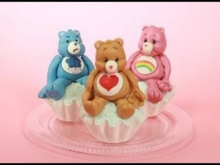 Care Bears Cake Toppers (How-to)