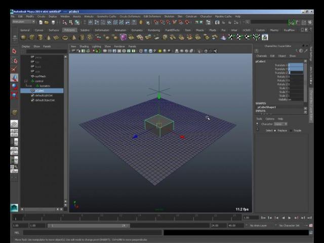 3D maya Вычисление матрицы поверхности и векторов