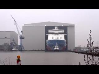 Float Out Norwegian Breakaway at Meyer Werft