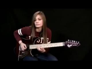 Ингви Мальмстин в исполнении девочки)))