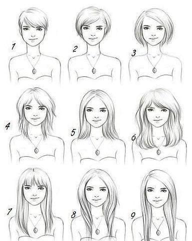 Как прическа меняет лицо!