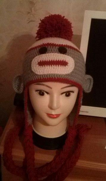Очередная шапка связана и