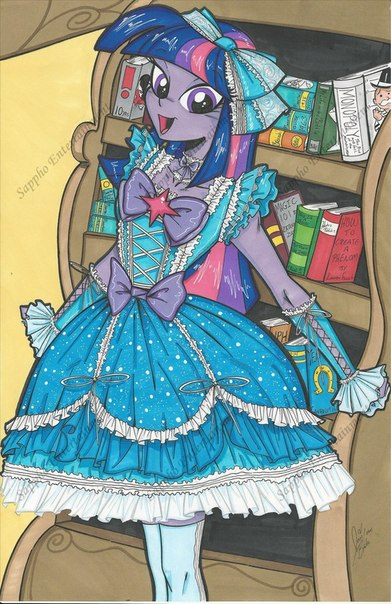Эквестрия Девочки Одевалка