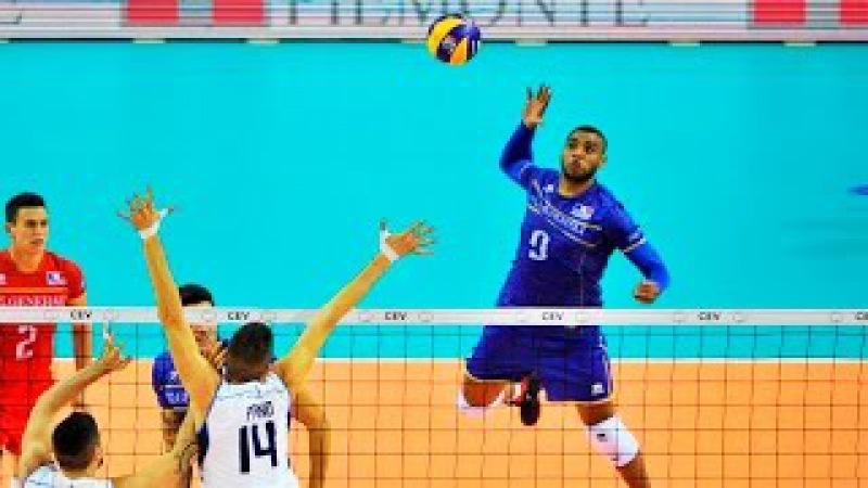 Top 20 best volleyball spikes - Earvin N'Gapeth (Rap N'Gapeth)