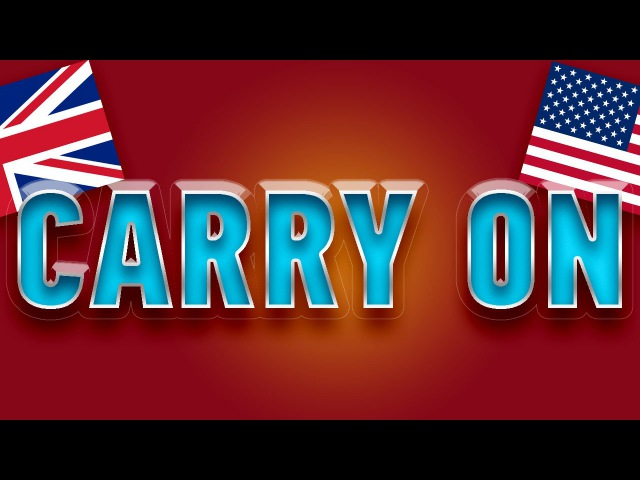 Phrasal verb carry on with examples. 2000 phrasal verbs in English. Lesson 7 carry on and go on