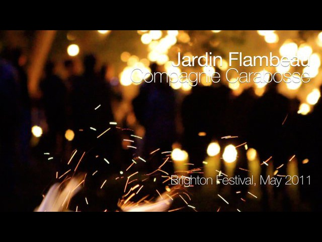 Jardin Flambeau Compagnie Carabosse