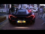 Supercars in Knokke-Heist: McLaren P1, SLS Black Series, Carrera GT, Aventador Roadster - 1080p HD