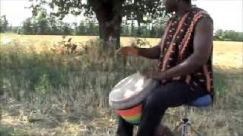 Dramane Konaté djembe kan 1