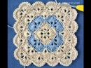 CROCHET GRANNY SQUARE FLOWER