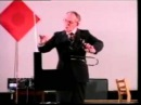 Leon Theremin plays thereminvox.(Lev Theremin, Lev Termen,Лев Сергеевич Термен))