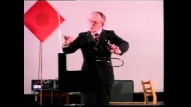 Leon Theremin plays thereminvox.(Lev Theremin, Lev Termen,Лев Сергеевич Термен))