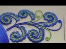 Урок вязания крючком ЗАВИТОК для ирландского кружева Irish crochet lace