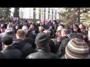 Керчь Попытка митинга в поддержку майдана 22 02 2014 г