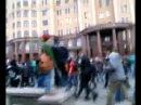 28 апреля 2014. Донецк.Разгон марша нациков (полная версия)