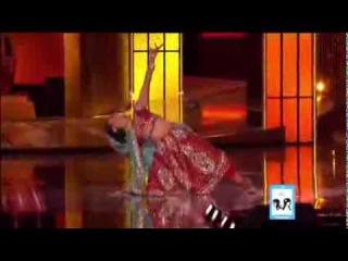 2014 Miss America Nina Davuluri dance in hindi bollywood song