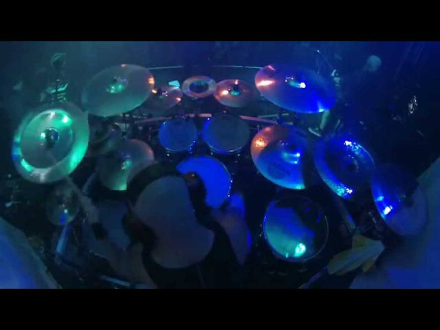 Ryan Van Poederooyen Drumcam Devin Townsend Project 'Ziltoid Goes Home