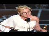 Patricia Arquette Demands Equal Pay For Women In Oscar Speech