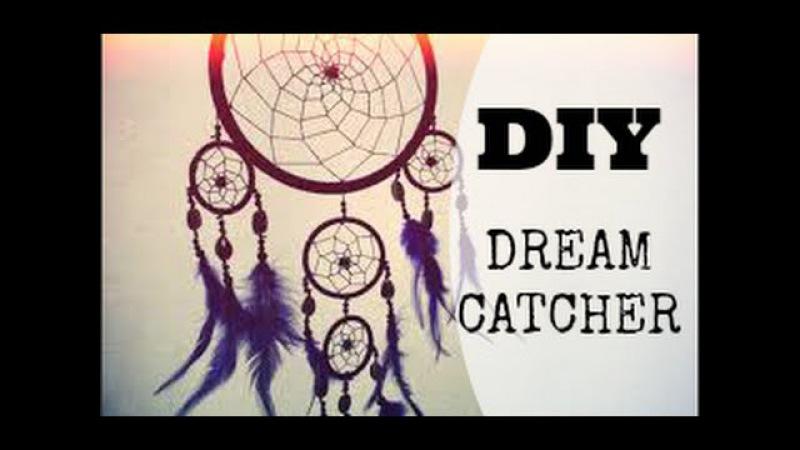 DIY - dream catcher/ filtro dos sonhos