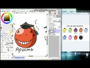 Assassination Classroom Speed Art Kora-Sensei. Класс убийц Кора-Сенсей