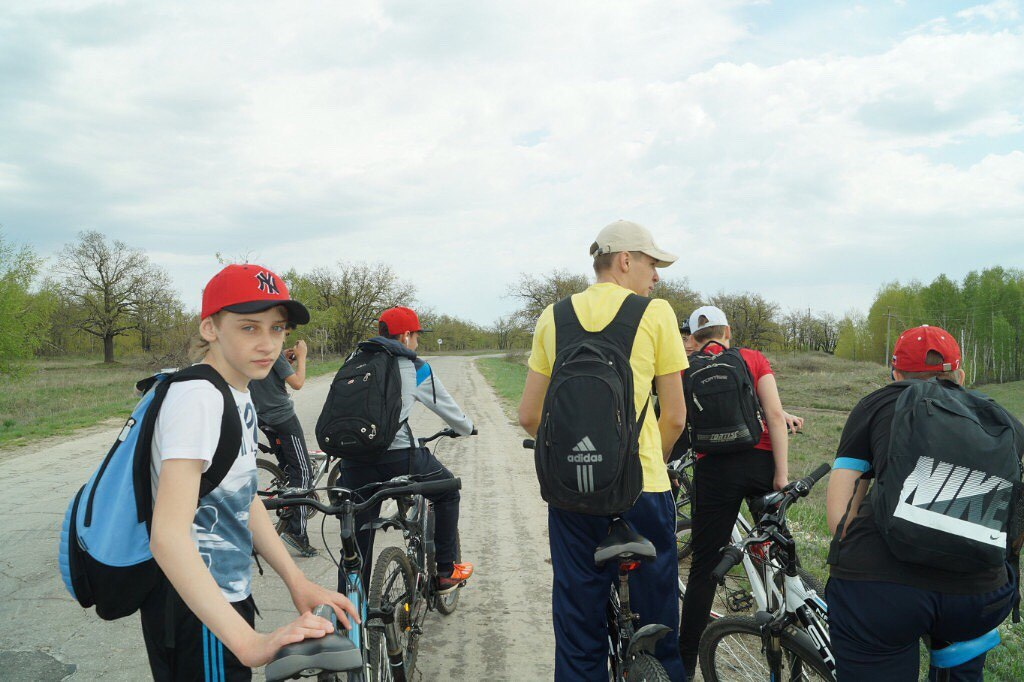 Велопробег к дню физкультурника