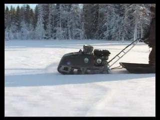 Рекламный ролик мотобуксировщика Рекс Зима 2010