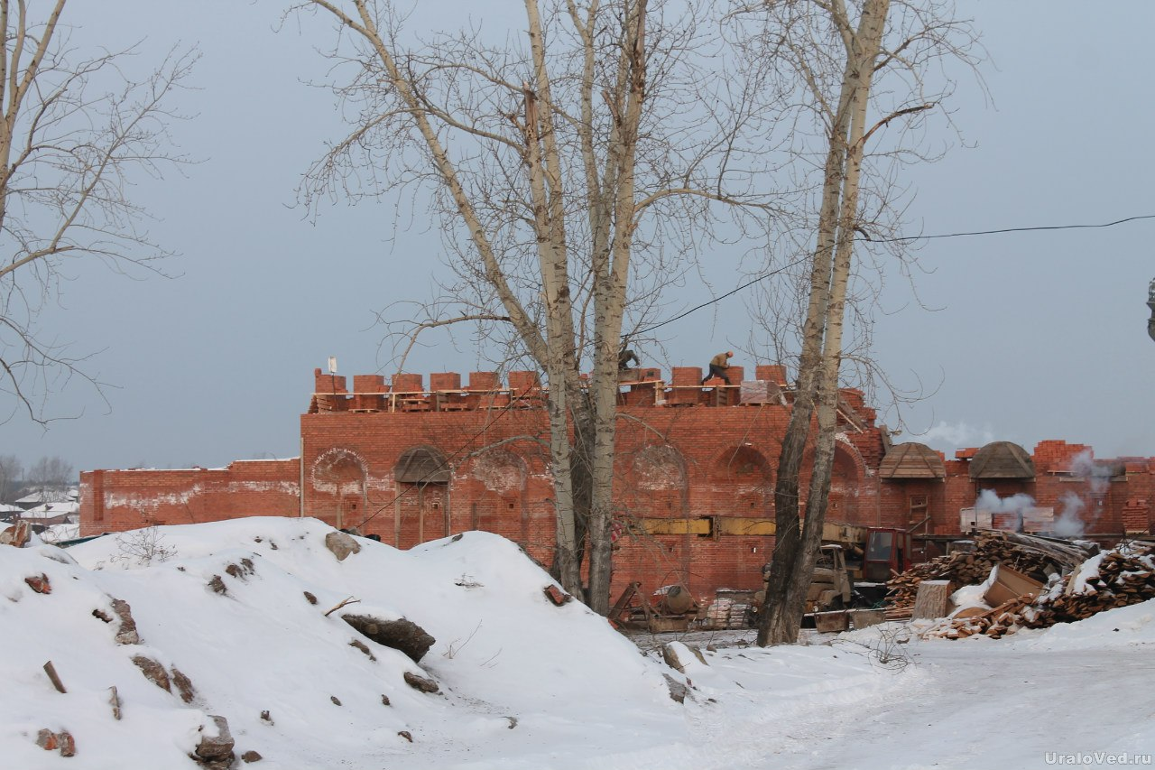 Строительство Верхотурского кремля