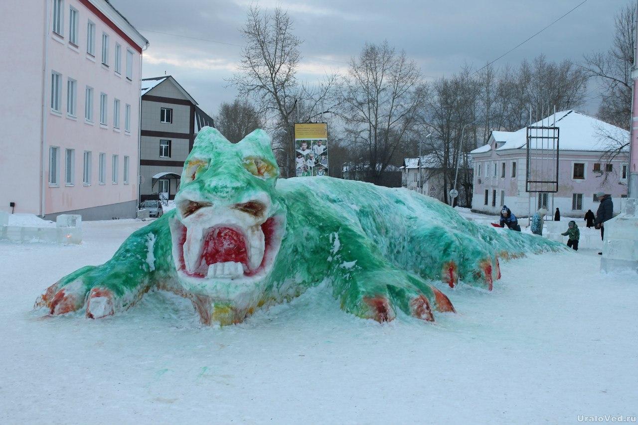 Чудище в Североуральске